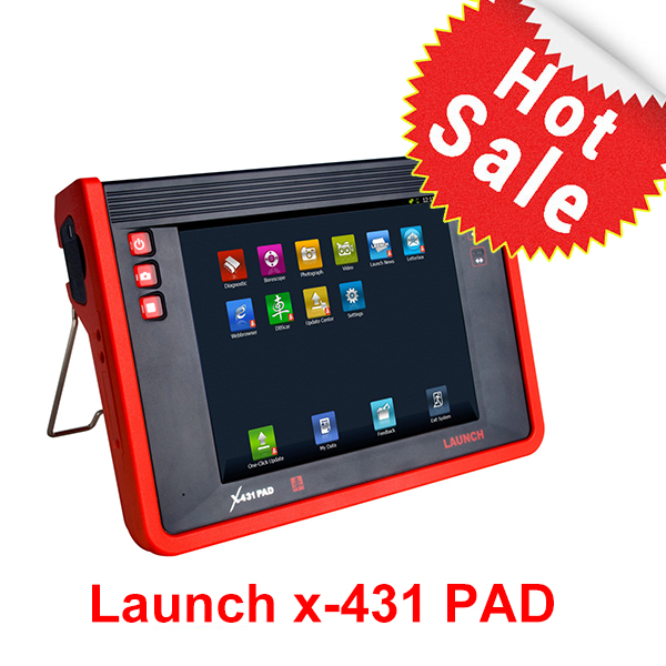 Launch X-431 PAD is the newest equipment for technicians