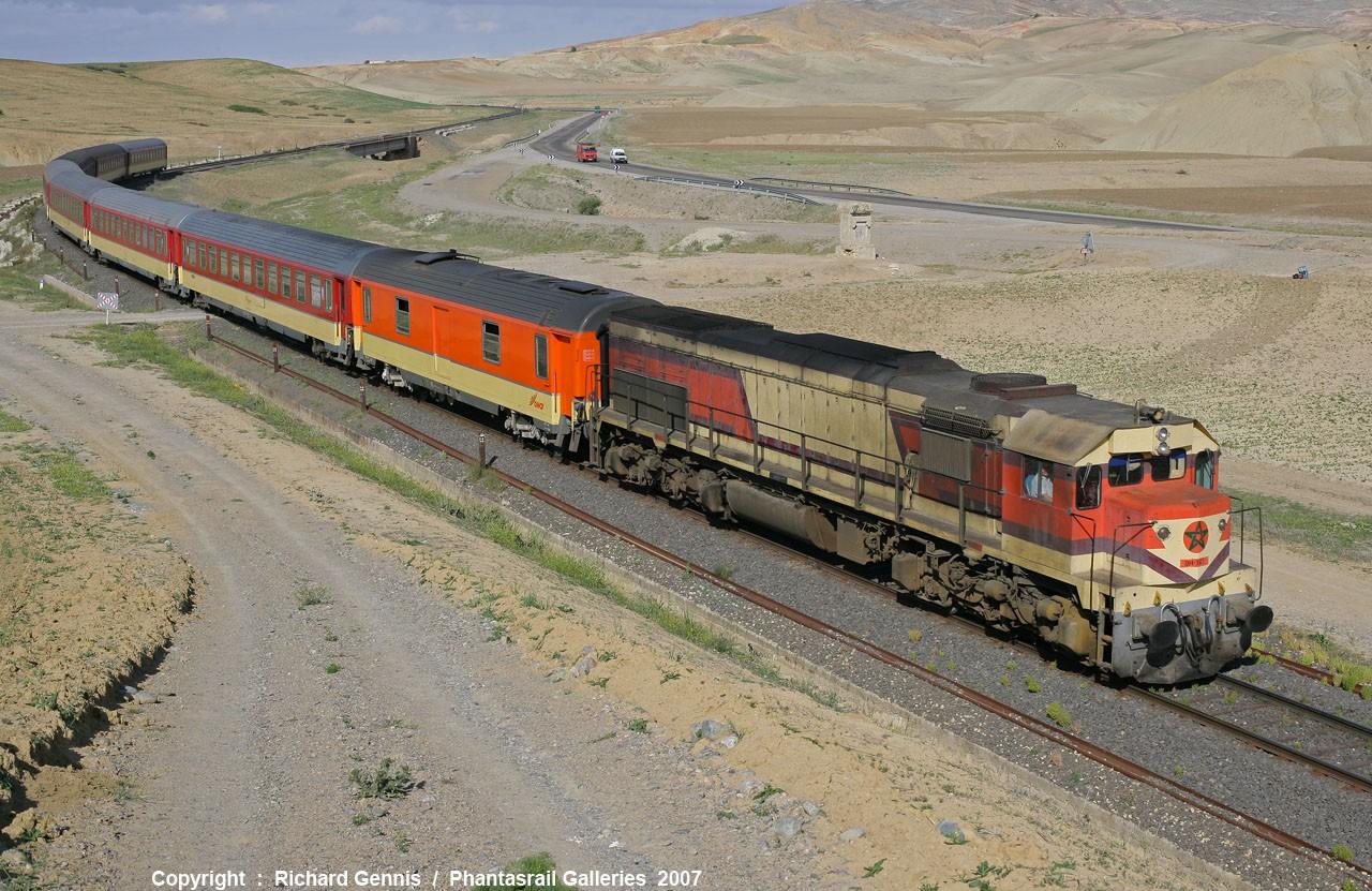 La DH-350 entre Oujda et Fes :